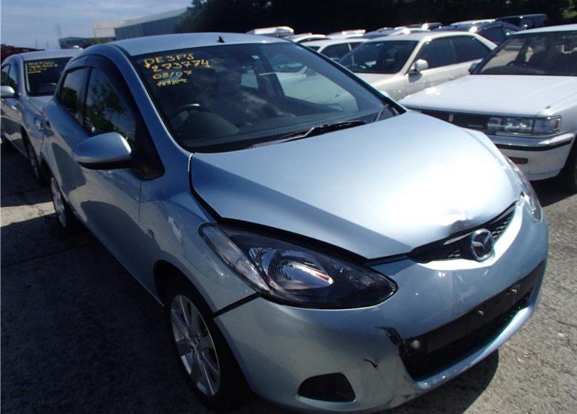 Аварийные авто с аукциона Японии